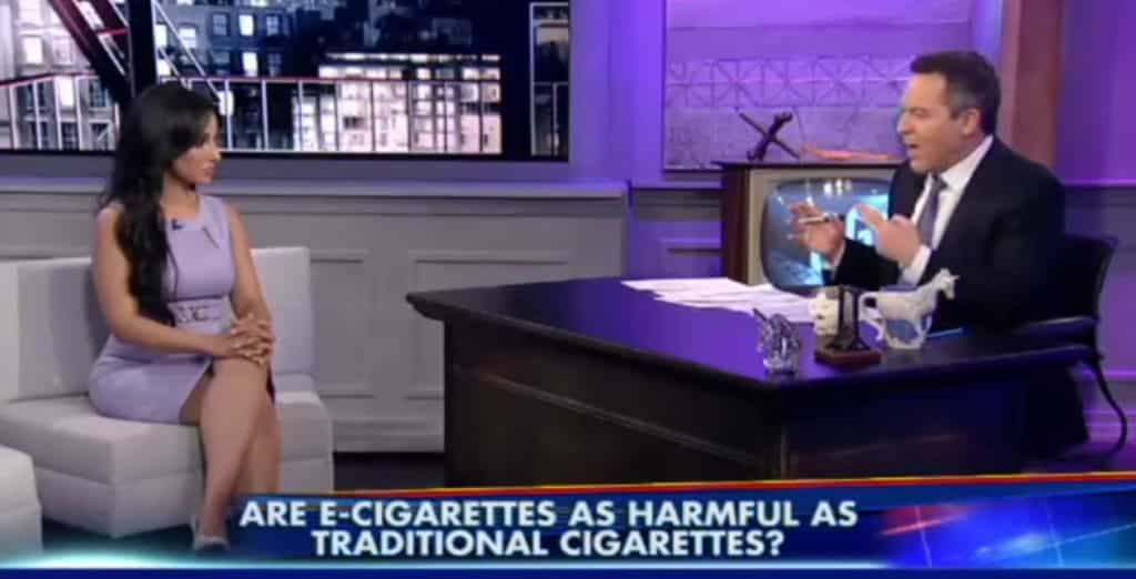 <u>Watch Greg Gutfeld School Hot Doctor on the Difference between Vapor and Smoke