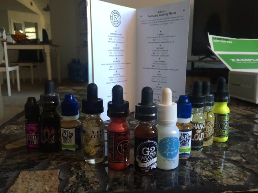 Zamplebox juices