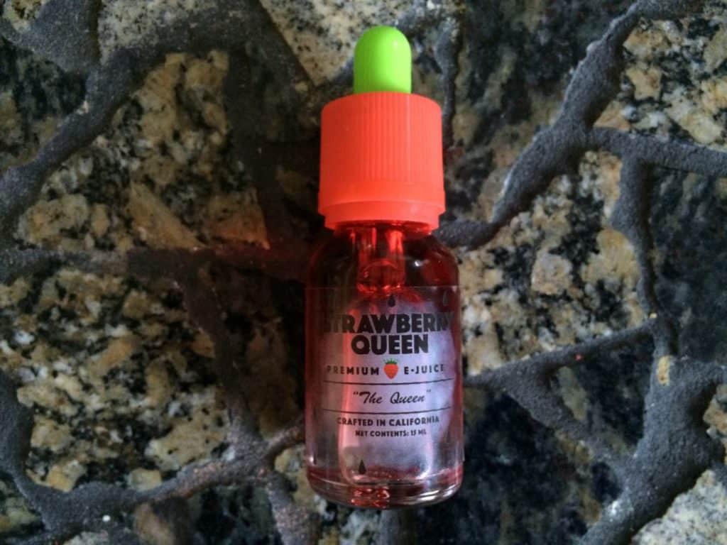 Strawberry Queen The Queen e-juice