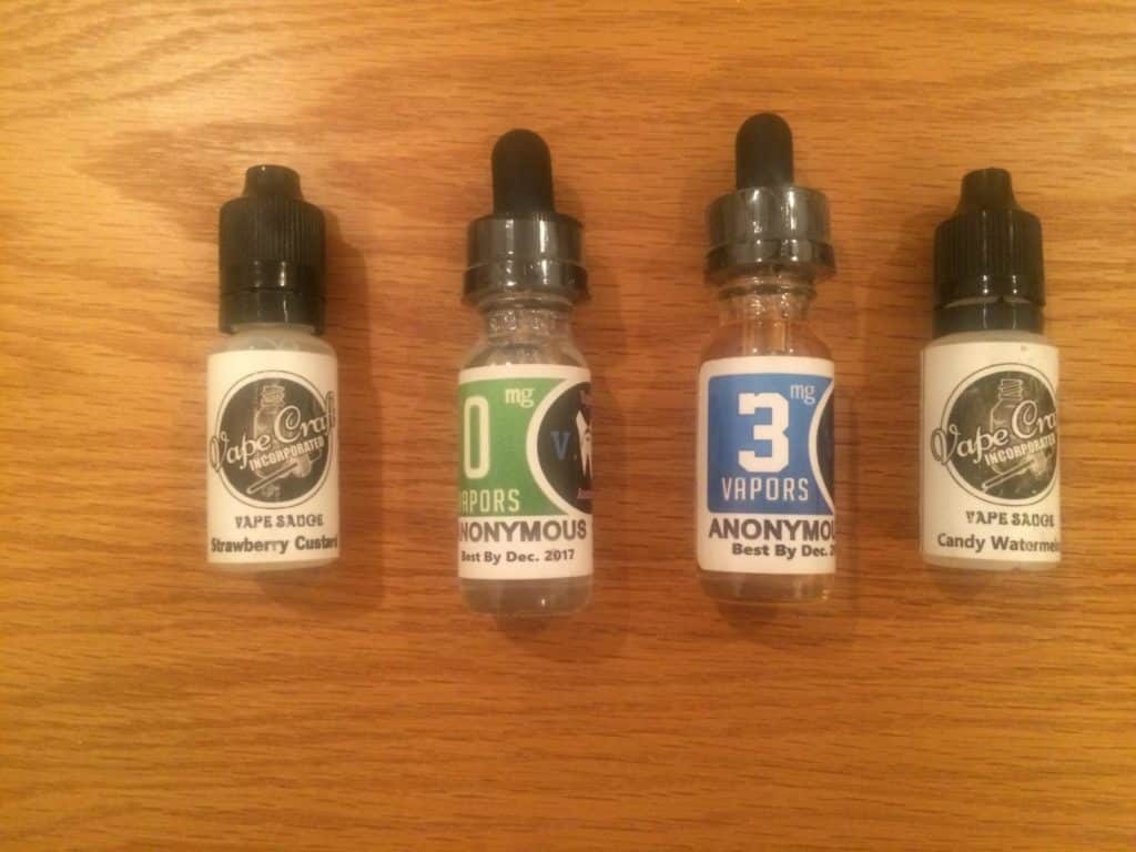 Vapecraft e-juice
