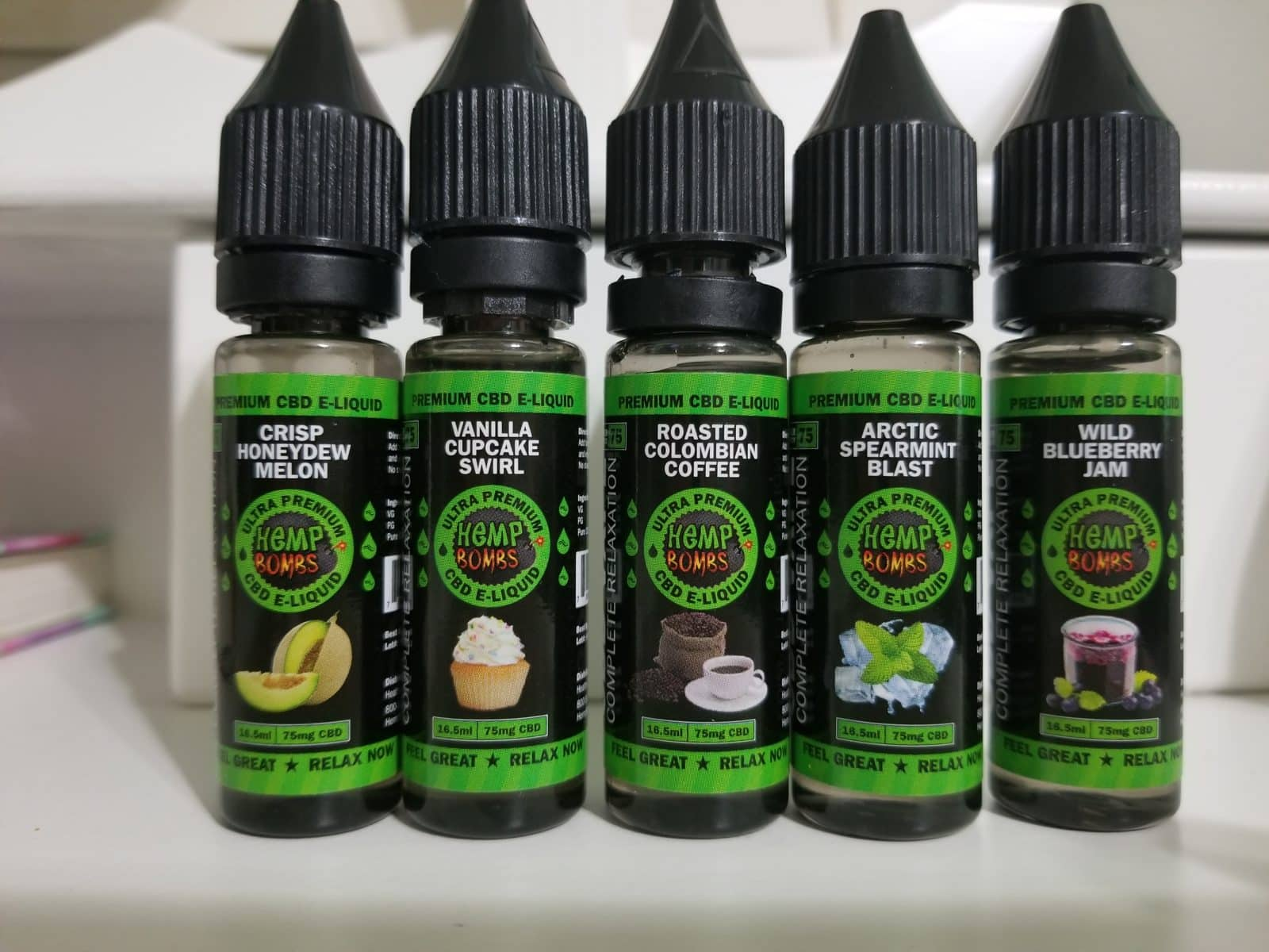 Hemp bombs juice