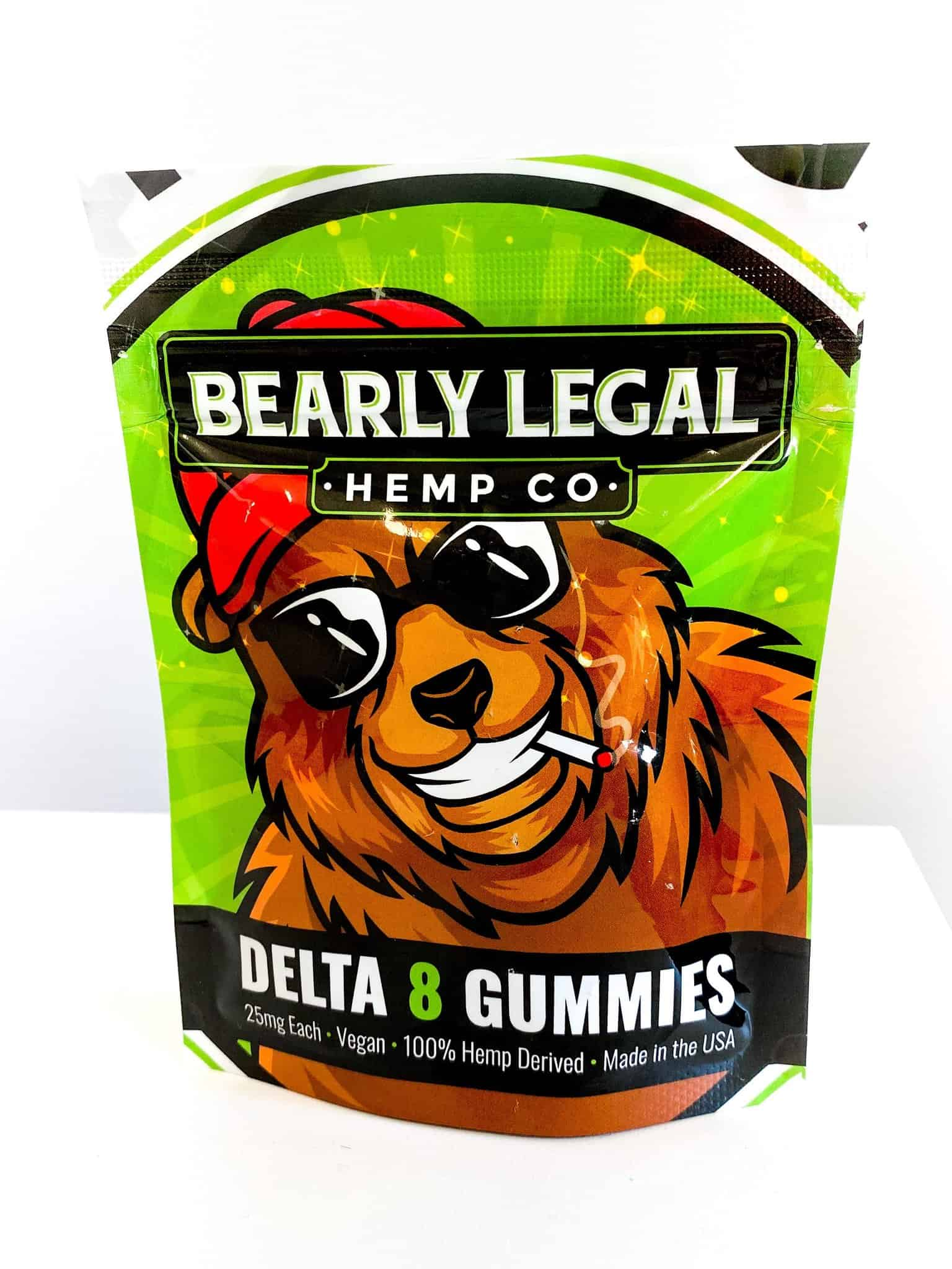 Bearly Legal Hemp Delta 8 THC Gummies
