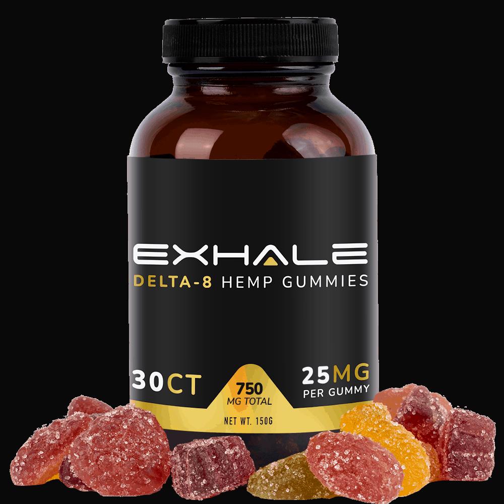 Buy Delta-8 THC Gummies Online - Exhale Wellness