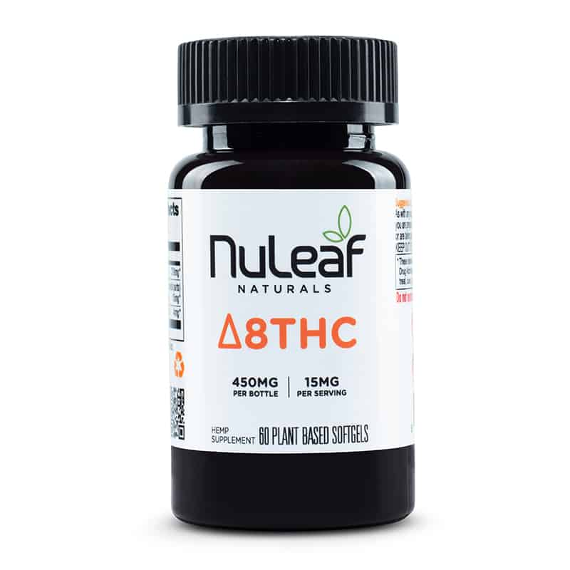 Nuleaf Naturals Delta 8 THC Capsules
