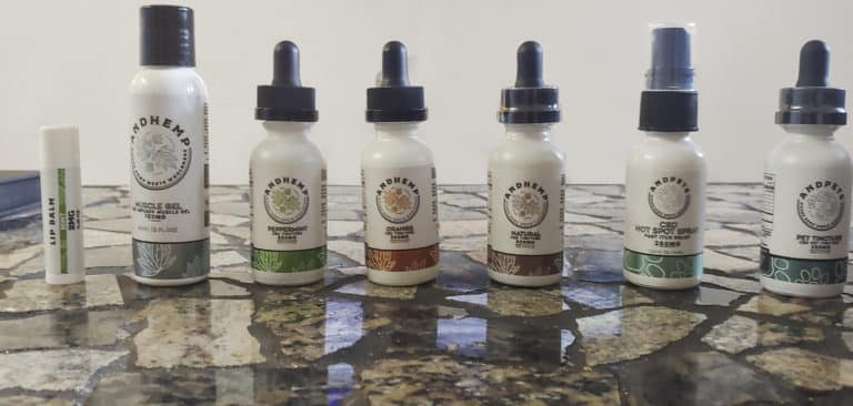 AndHemp product lineup