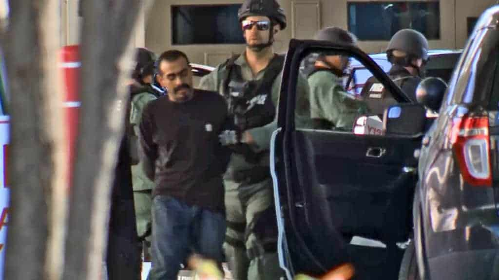 "Suspect in ""vape pen delivery"" standoff is arrested"