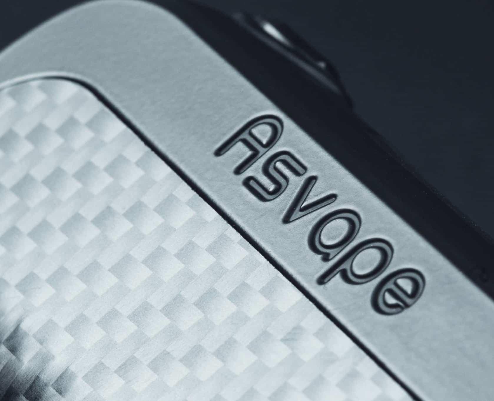 Asvape logo on product