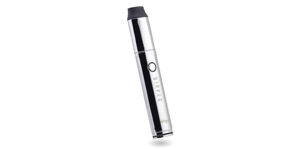 The Dipper vaporizer in chrome