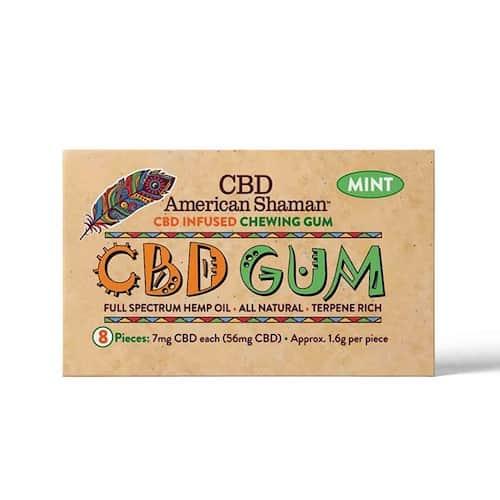 CBD American Shaman CBD Chewing Gum