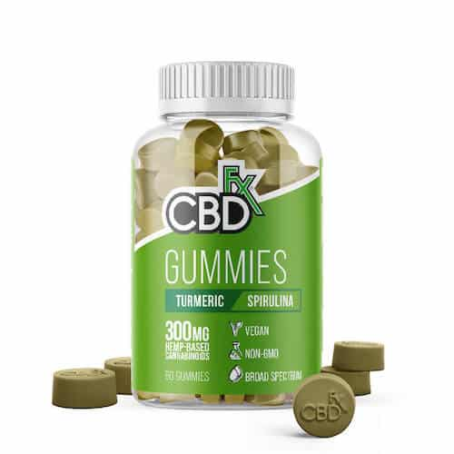 CBDfx CBD Gummies & Supplements