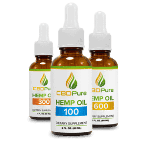 CBD pure cbd oil bottles