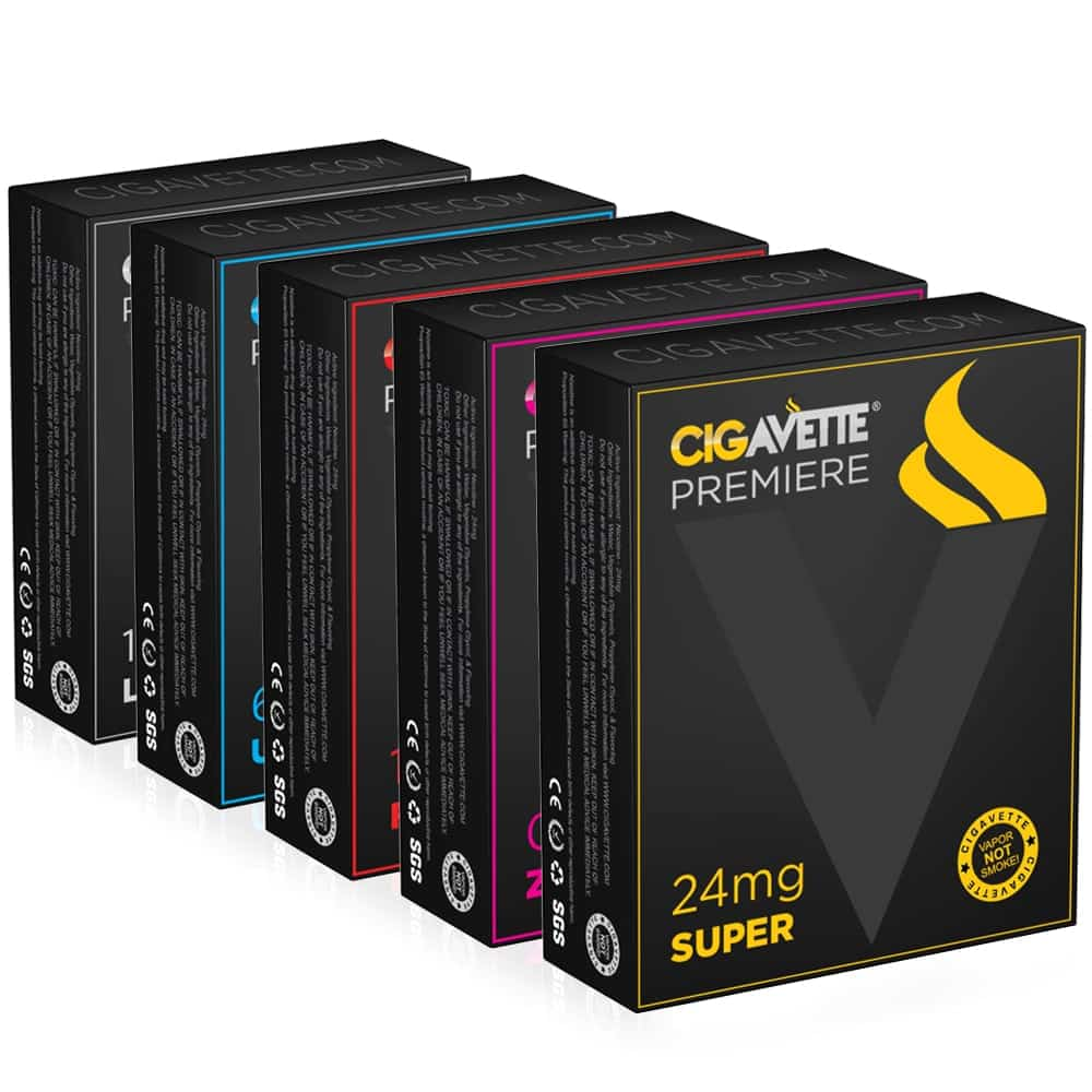 Cigavette rechargeable e-cigarettes