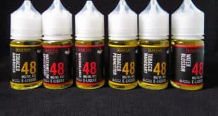 Bantam Vape Salt Nics lineup