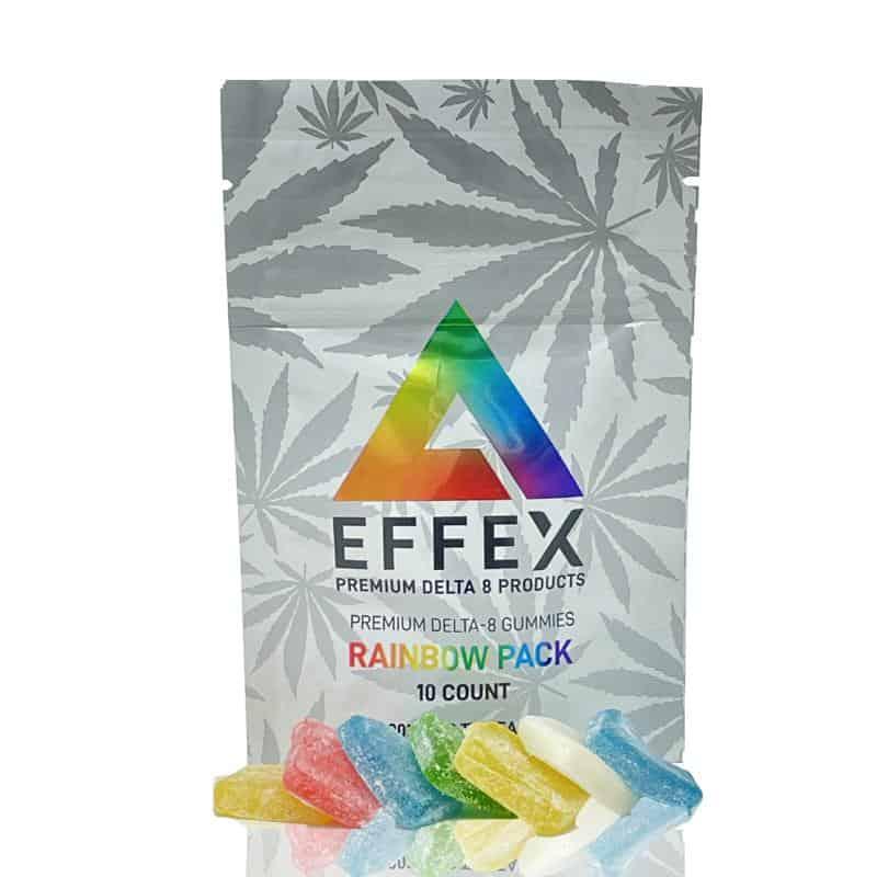 Delta Effex Rainbow Pack Delta 8 Gummies