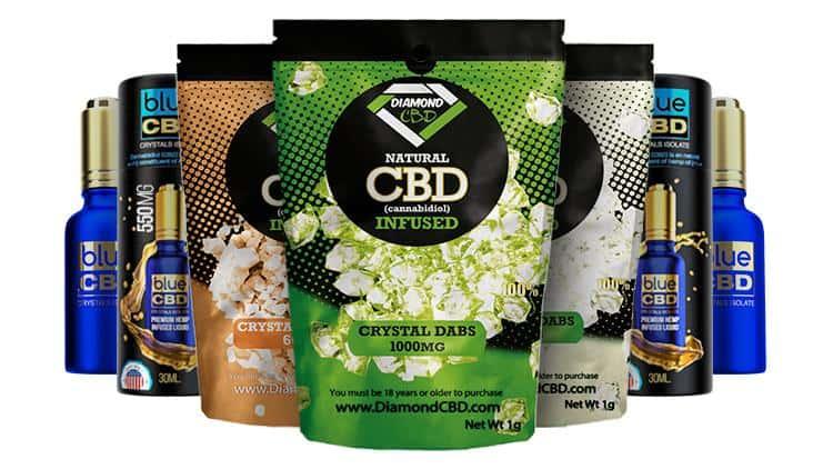 diamond cbd product line