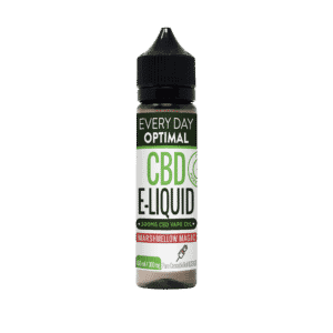 Every day optimal cbd e-liquid bottle