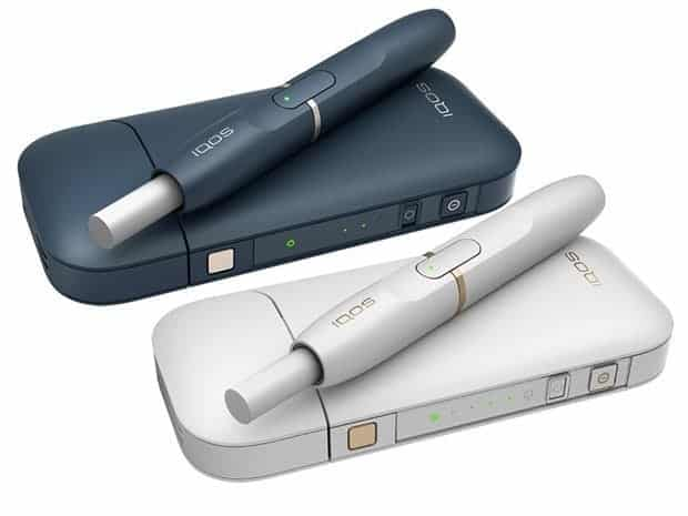 iqos heat-not-burn device
