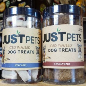 JustPets CBD dog and cat treats