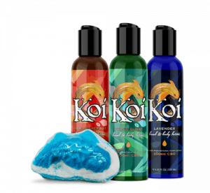 Koi CBD bath and body