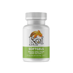 Koi CBD softgels