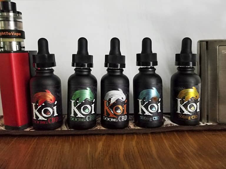 KOI CBD on shelf