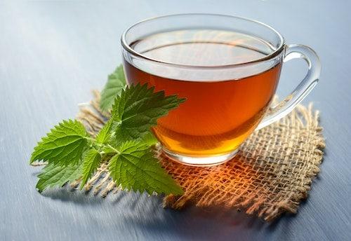 Glass of kratom tea