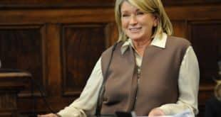 Martha Stewart testifying