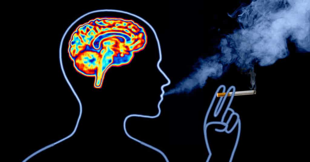 health effects of quitting smoking on the brain