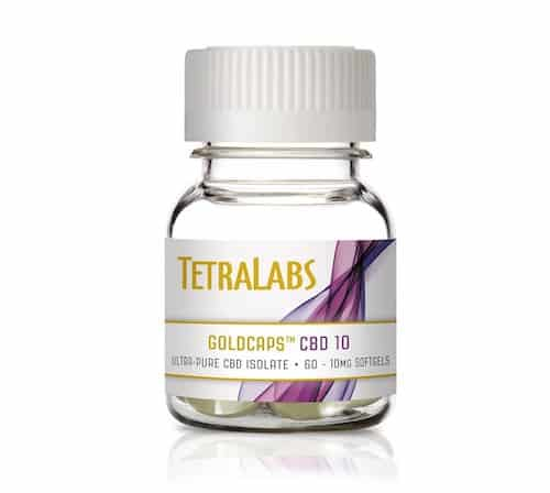 TetraLabs CBD softgels