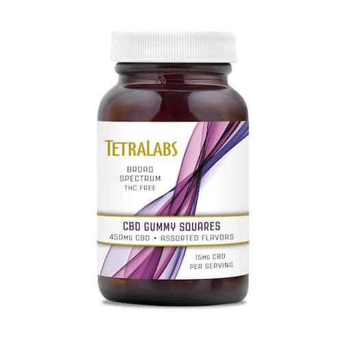 Tetra Labs CBD Gummy Squares