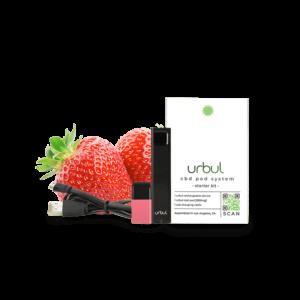 Strawberry Urbul CBD pod system