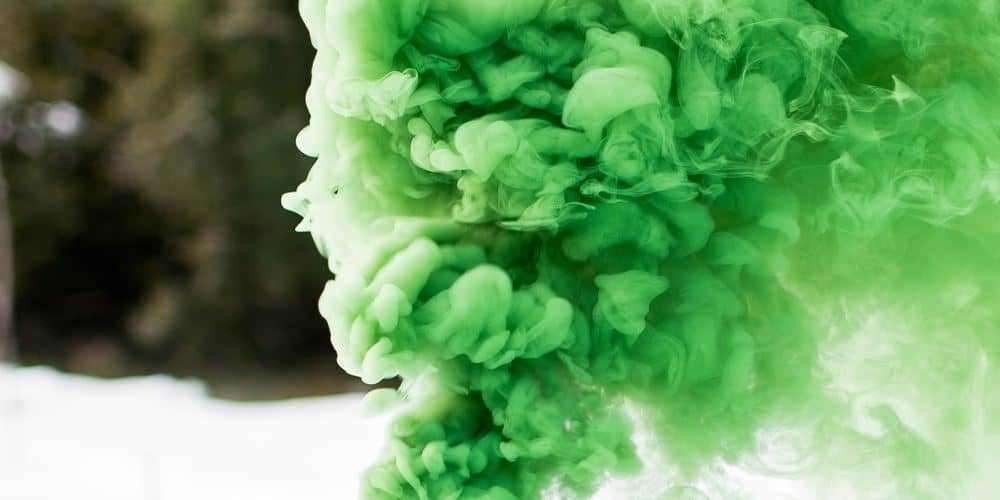 Could toxic fumes like these cause vaping injuries?