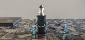 Aspire Dynamo box mod on table