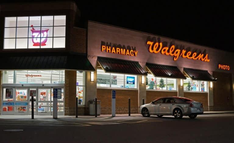 Walgreens at night