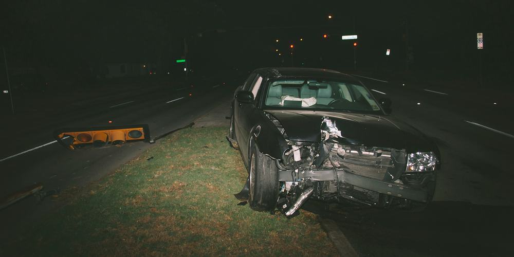 wrecked vehicle for impaired driving cannabis study